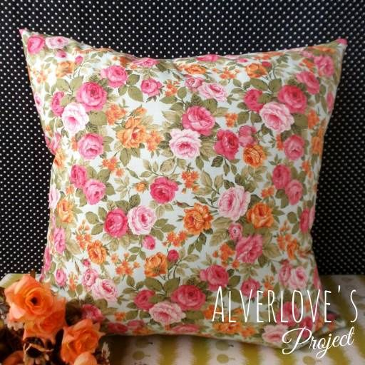 Jual Blossom 01 cushion cover / sarung bantal (cover only) - Alverlove's Project   Tokopedia