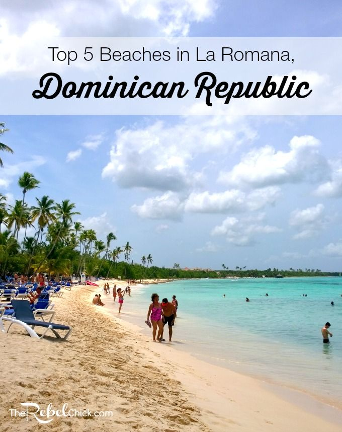 Top 5 Beaches in La Romana Dominican Republic
