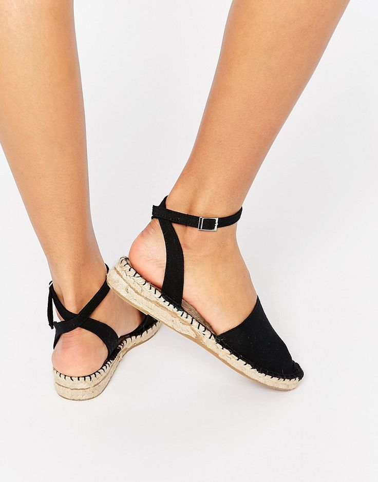 Image 1 of ASOS JILLY Two Part Espadrilles