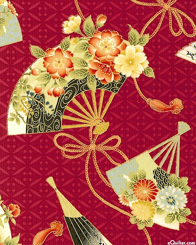 'Hanabi' collection by Hana for Quilt Gate.