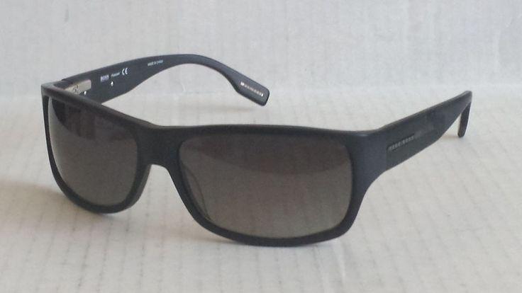 HUGO BOSS men Polarized black sport sunglasses BOSS 0423 NEW #HUGOBOSS #Sport