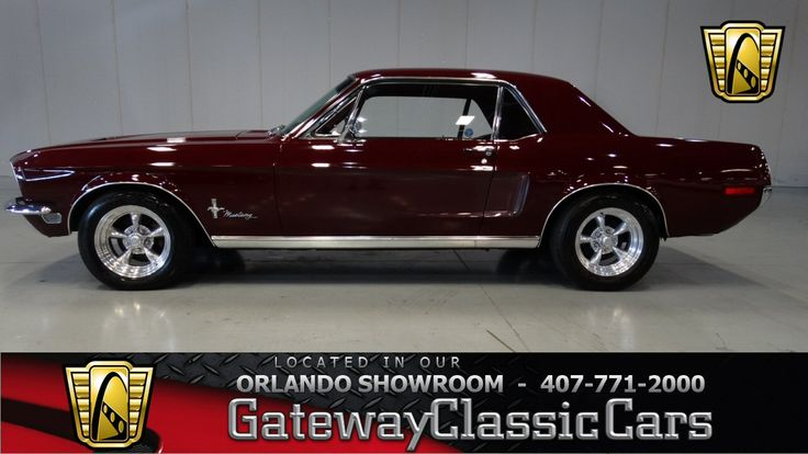 1968 Ford Mustang 2 Door Coupe » Classic Mustangs For Sale at Mustang Trader…