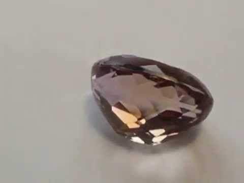Batu Permata Ametrine Ungu Emas 16.47 carat Oval Cut. Info selanjutnya : http://bit.ly/ovalametrine