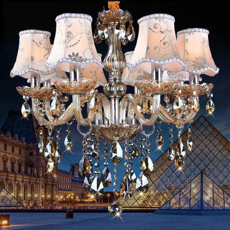 Современные Люстры, K9 люстры de cristal lustre moderne для домашнего освещения Спальня Кухня Столовая Хрустальная люстра, лампа купить на AliExpress