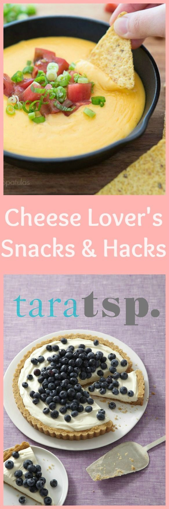 Let's celebrate one of my favorite foods with these cheese lover's snacks and hacks. Nothing says delicious, quite like melted cheese!