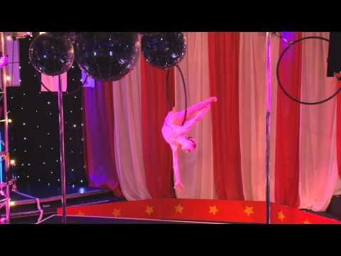 Pole Divas Unleashed 2011 Aerial Hoop winner - Saffron Gallagher
