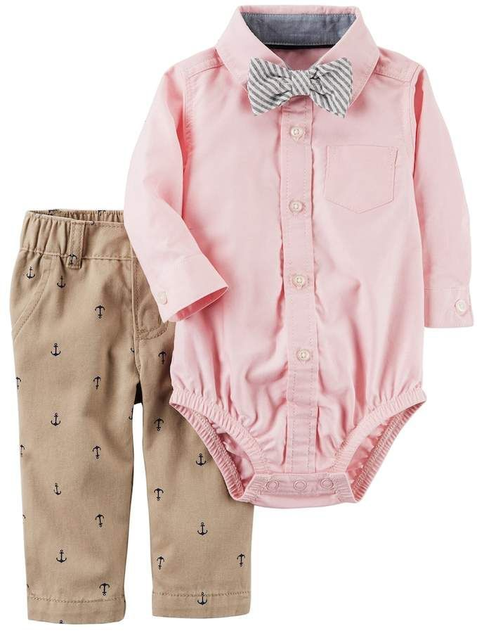 Carter/'s Shirt Boy/'s Coat /& Jeans All 2T Polo Ralph Lauren khaki Tan Shorts