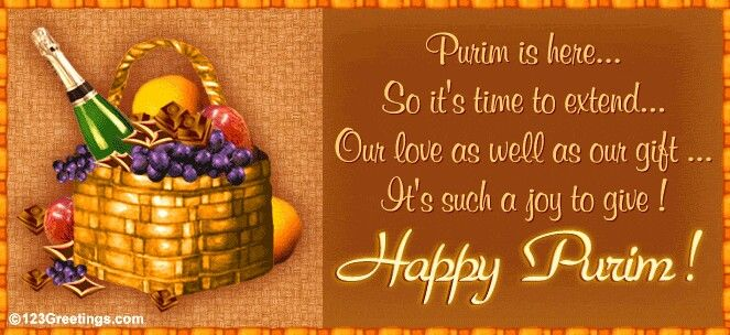 Happy Purim!!! (Esther 9:17-32)