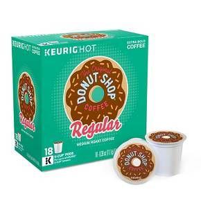 Keurig® The Original Donut Shop Coffee - K-Cup Pods - 18ct : Target