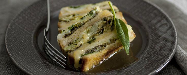 Il flan di verze     Una ricetta per un antipasto o un secondo vegetariano e stuzzicante, che farà piacere le verdure anche ai bambini