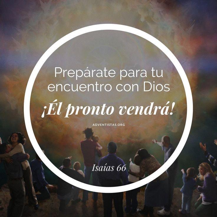 """445 Me gusta, 5 comentarios - Adventista del Septimo Día (@iasdsudamerica) en Instagram: """"Nuestro Dios pronto vendrá como poderoso ¡Rey del Universo! prepárate para este gran encuentro.…"""""""