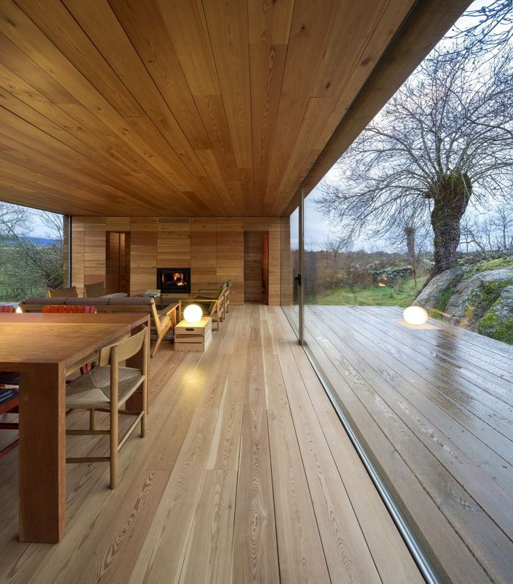 Wow…I love this idea as a connector between garage and house or a second house. Also a great house concert venue...  B House / ch+qs arquitectos