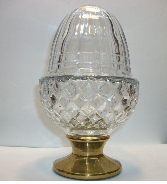 Best Crystal Acorn Staircase Banister Finial Large Antique 400 x 300