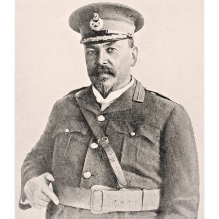Louis Botha 1862 To 1919 First Prime Minister Of The Union Of South Africa From The War Illustrated Album Deluxe Published London 1916 Canvas Art - Ken Welsh Design Pics (13 x 15)