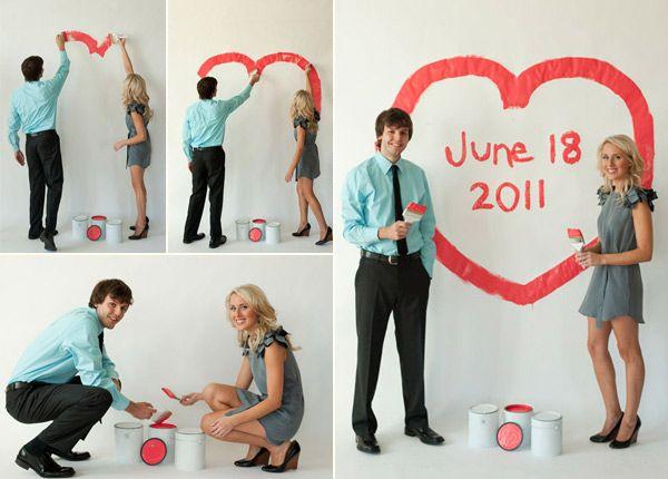 Идеи для фотосессии love story: сердце