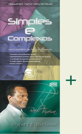 """Compre o livro """"Simples e Complexos"""" e ganhe o CD """"O que é o Espiritismo"""" — Editora Frater"""
