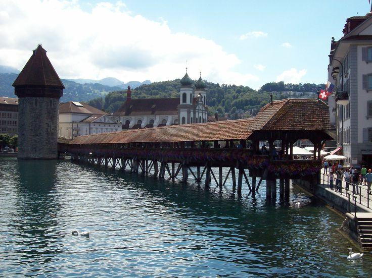 Kappelbrucke - Lucerna - Svizzera