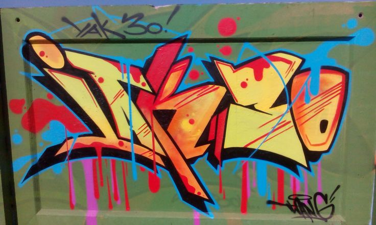 My hometown graffiti photo no.3