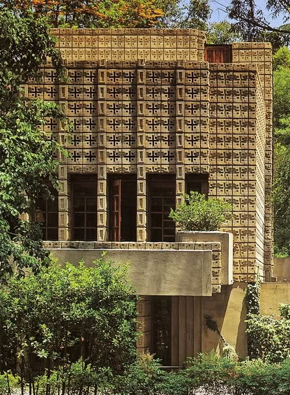 Les 627 meilleures images du tableau frank lloyd wright - Frank lloyd wright architecture organique ...