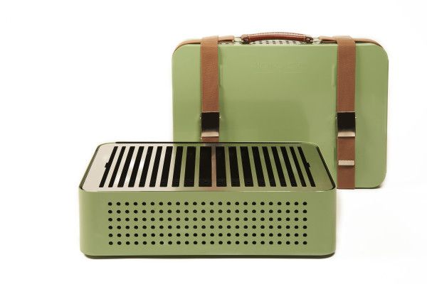 Mon Oncle Portable BBQ Grill by RS Barcelona Photo