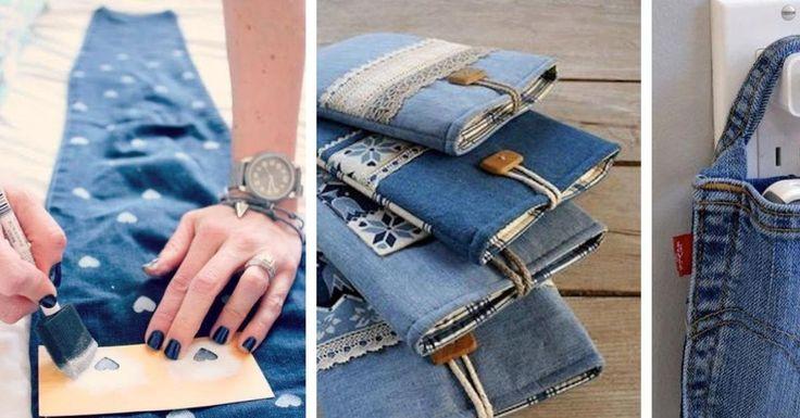 9 x Upcycling für Jeans.