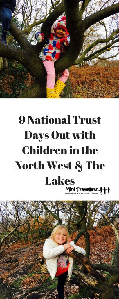 9 National Trust Days Out with Children in the North West & The Lakes http://minitravellers.co.uk/9-national-trust-days-children-north-west-lakes/