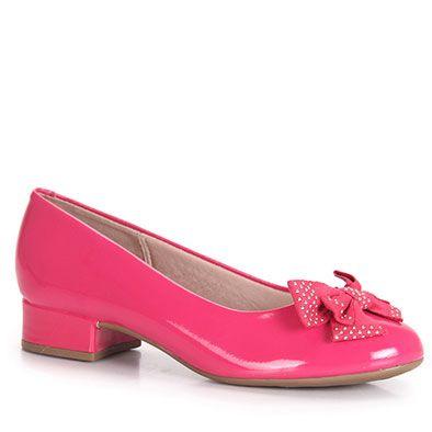 Sapato Infantil Molekinha - 25 ao 34 - Pink