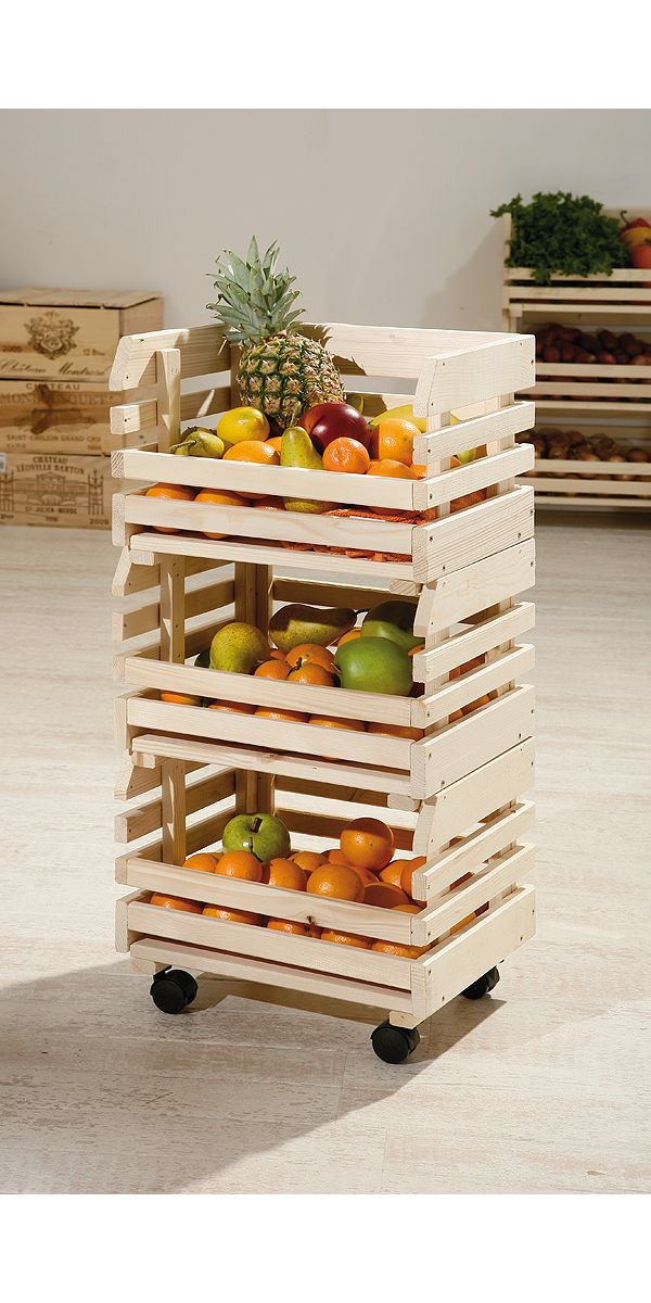 Freestanding potato stacking box set
