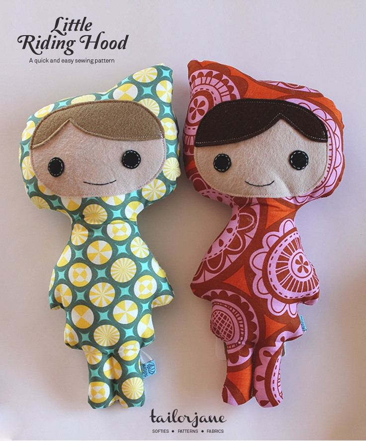 Little Riding Hood  PDF pattern by tailorjane on Etsy, $6.00