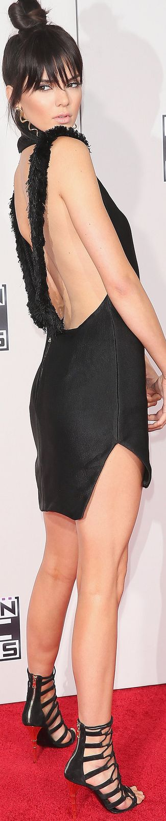 ON THE RED CARPET via LOLO Kendall Jenner 2015 American Music Awards repined by BellaDonna