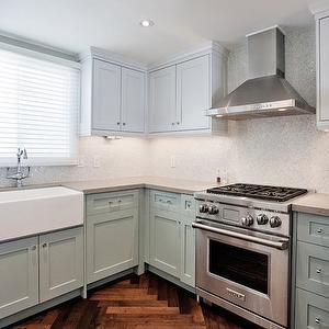 Stainless Steel Apron Sink - Transitional - kitchen - M. Frederick
