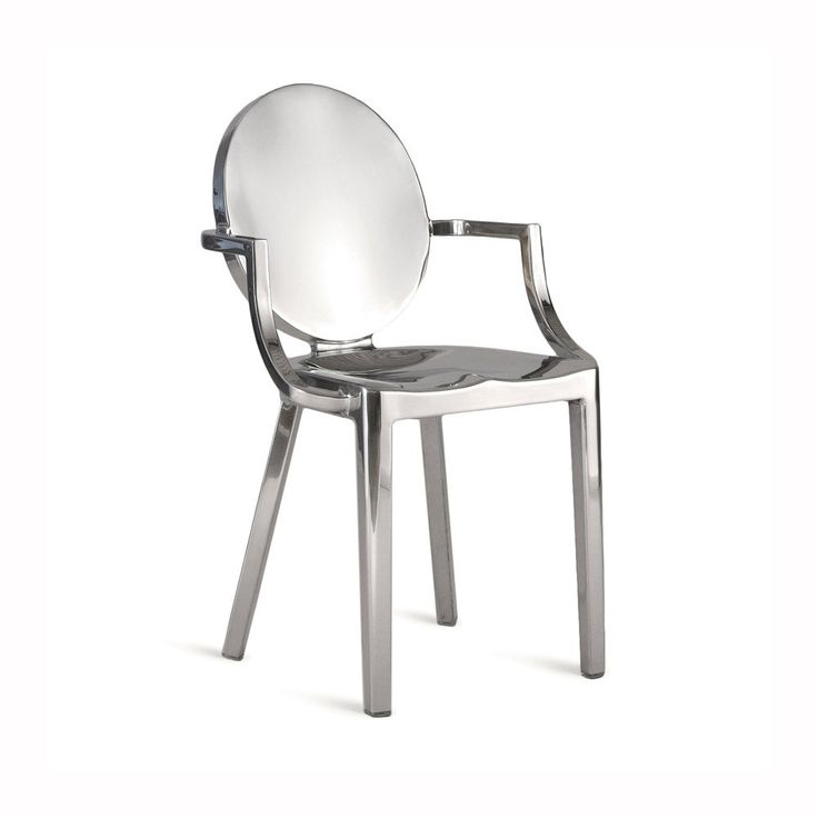 philippe starck bubble chair. emeco kong armchair in polished aluminum, philippe starck - chairs bubble chair