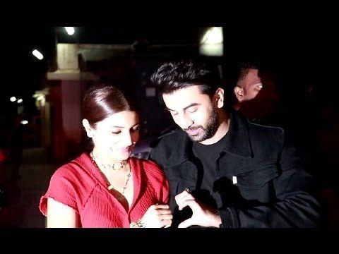 Ranbir Kapoor & Anushka Sharma at screening of AE DIL HAI MUSHKIL.