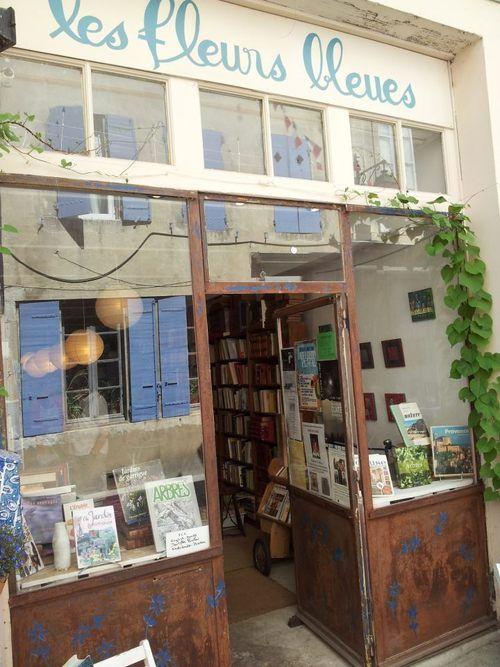 Bookstore in Dieulefit, Drôme.