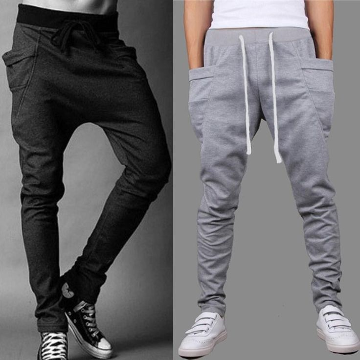 Wholesale cheap gender -wholesale men's joggers casual harem sweatpants sport pants men gym bottoms track training jogging trousers free shipping from Chinese men's pants supplier - .