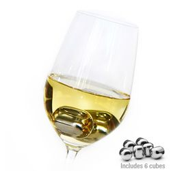 Avanti Stainless Steel Wine Pearls Ice Cubes