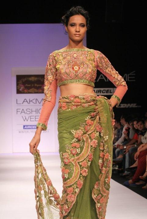 Saree by Preeti S Kapoor #saree #sari #blouse #indian #outfit  #shaadi #bridal #fashion #style #desi #designer #wedding #gorgeous #beautiful