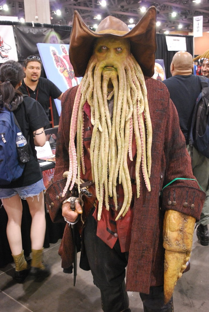 25+ best Davy jones costume ideas on Pinterest | Davy jones pirate ...