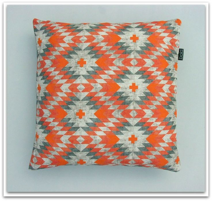 Aztec Tribal Cushion