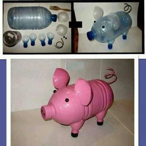 Ideas para reciclar botellas!!!