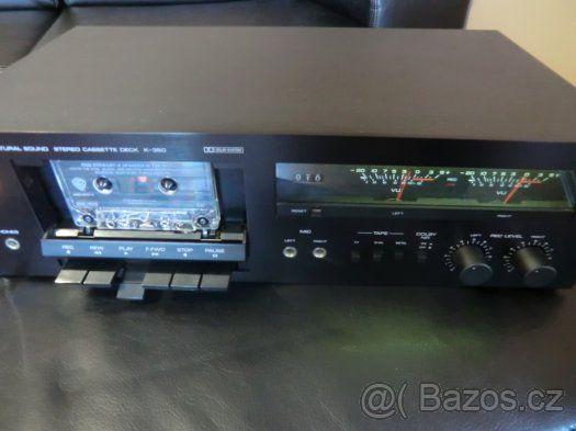 53f2e87a2 Hi-Fi Tape deck Yamaha K-350 TOP STAV - 1 | Vintage