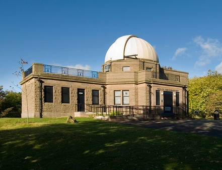 Mills Observatory: Gifted to the people of Dundee in 1935, it is the only British observatory to have been built with the sole aim of encouraging public understanding of science, and is the UK's only full-time public observatory.