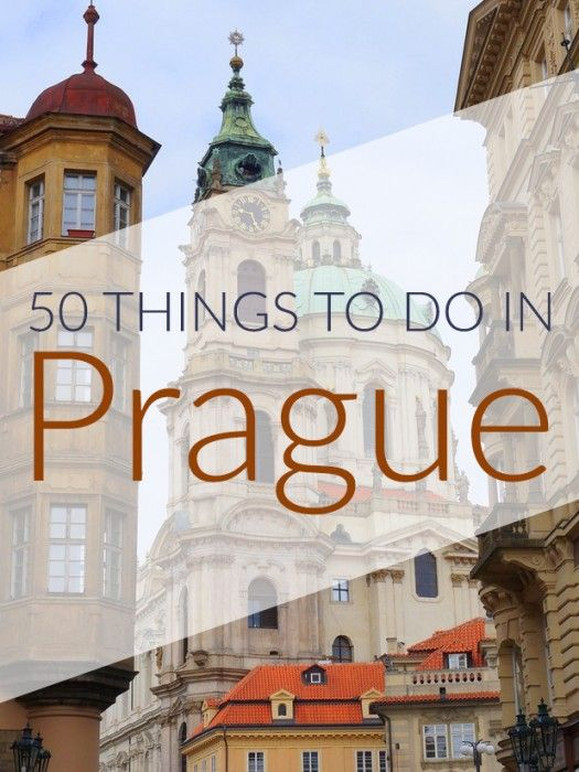 City guide showcasing 50 things to do in Prague on your next visit. Includes a mix of top attractions and off-the-beaten-path activities.