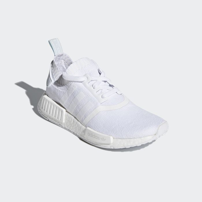 Adidas NMD R1 Primeknit STLT Black Trainers Cheap UK (With
