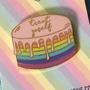 'Treat Yoself Drippy Cake (2 Colors!)