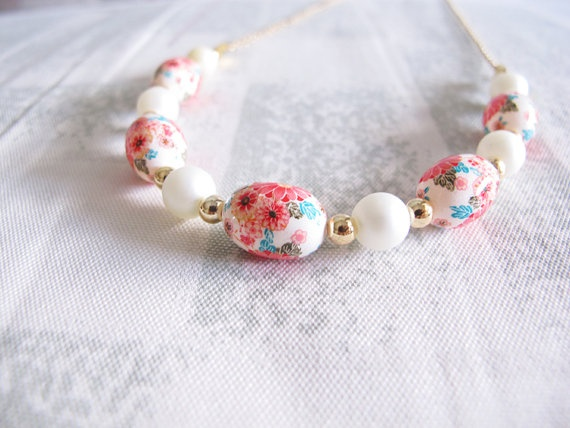 Oriental Spring Long Necklace