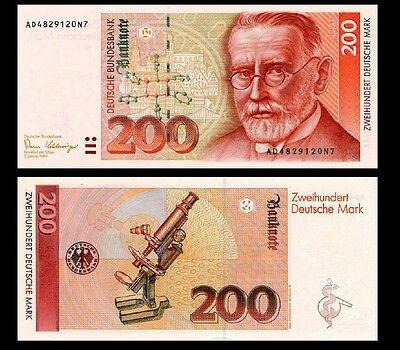 200 DM Schein neu Deutsche mark, Dm scheine, Deutsche