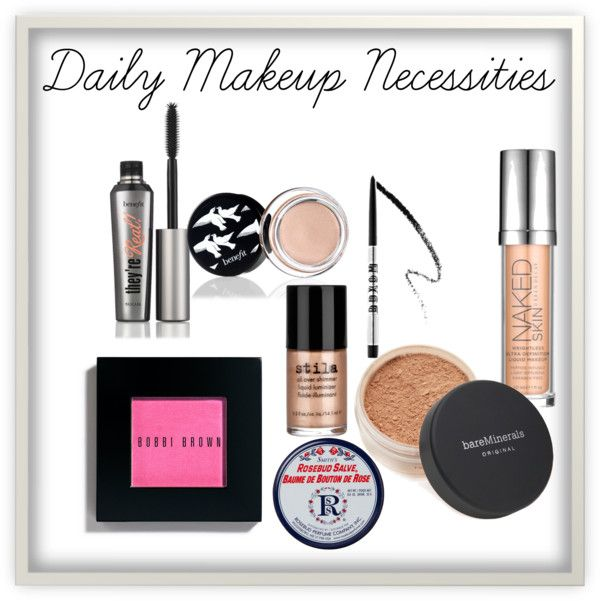 Daily Makeup Necessities Makeup Vanity Box Makeup