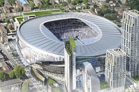 Absolutamente espectacular: Así será el nuevo estadio del Tottenham - Diario de  Torremolinos