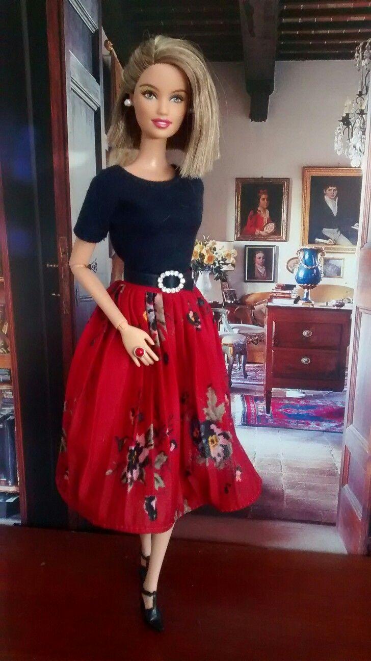 Barbie DOW Chile, hybrid.  Kleidung: By-elle, eBay   Ring: Tafehnja, eBay